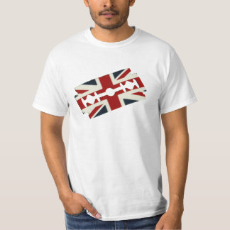 Vintage Razor Blade Union Jack T-Shirt