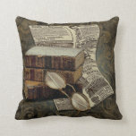 Vintage Reading Pillow