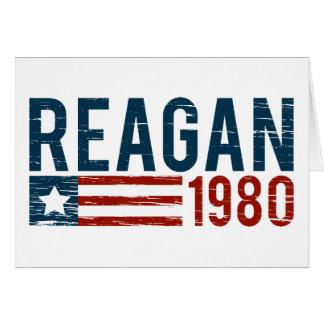 Vintage Reagan 1980 Card