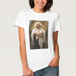Vintage Realism, Madonna of the Roses, Bouguereau Shirt