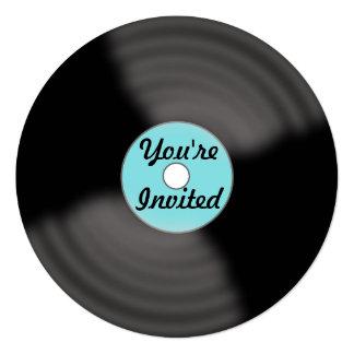 Record Invitations & Announcements | Zazzle