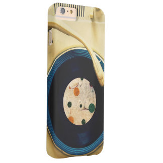 Vintage Record player Barely There iPhone 6 Plus Case