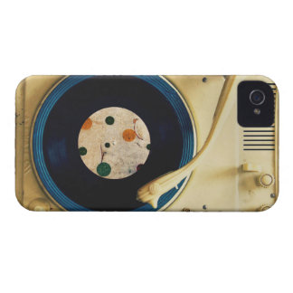 Vintage Record player iPhone 4 Case-Mate Cases