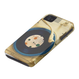 Vintage Record player iPhone 4 Cover