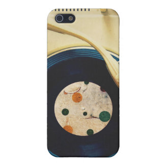 Vintage Record player Case For iPhone SE/5/5s