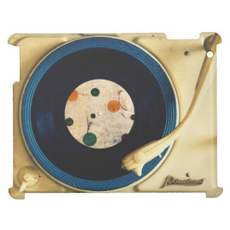 Vintage Record player iPad Cases