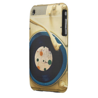Vintage Record player iPhone 3 Cover