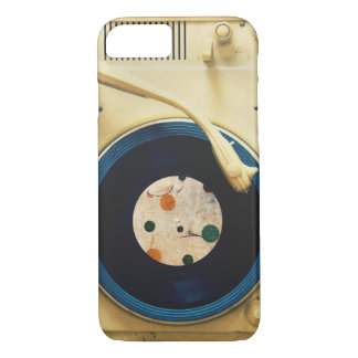 Vintage Record player iPhone 7 Case