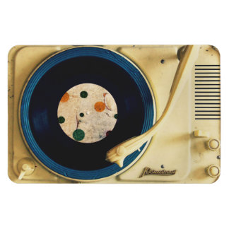 Vintage Record player Flexible Magnet