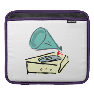 Vintage Record Player Sleeve For iPads