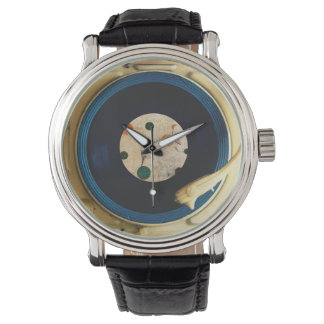 Vintage Record player Wristwatch