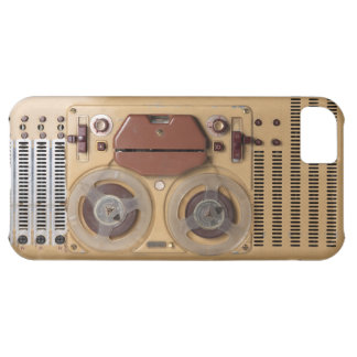 Vintage Recorder Cover For iPhone 5C
