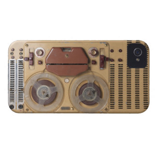 Vintage Recorder iPhone 4 Cover