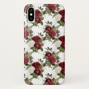 Red Rose Wallpaper Pattern Gifts On Zazzle