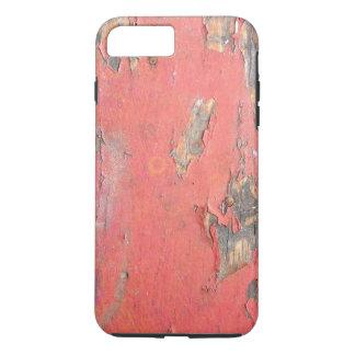 Vintage Red Barn Wood iPhone 7 Plus Case