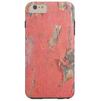 Vintage Red Barn Wood Tough iPhone 6 Plus Case