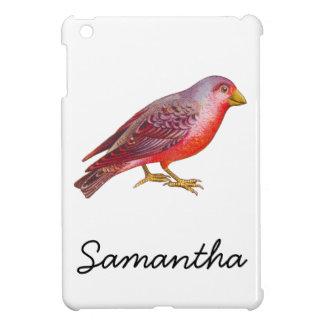 Vintage Red Bird iPad Mini Cover