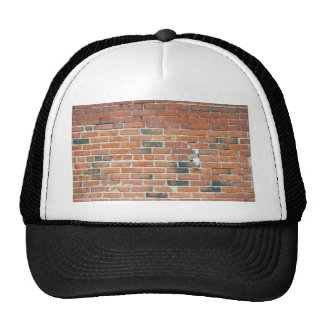 Vintage Red Brick Wall Texture Trucker Hats