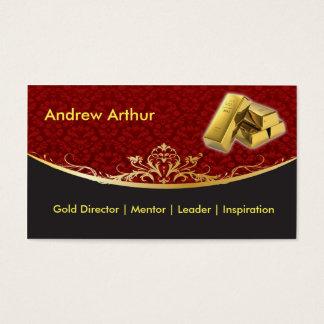 Vintage Red Business Card