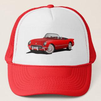VINTAGE RED CORVETTE Trucker Hat
