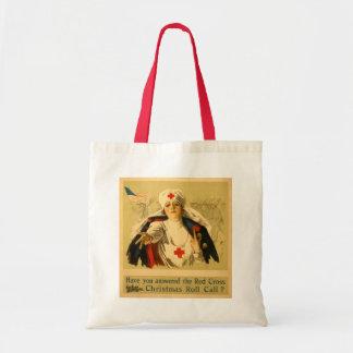 Vintage Red Cross Nurse - Bag