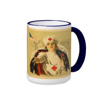 Vintage Red Cross Nurse - Mug