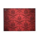 Vintage Red Damask Wallpaper iPad Mini Cases