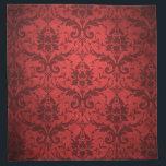 """Vintage Red Damask Wallpaper Napkin<br><div class=""""desc"""">Vintage Red Damask Wallpaper</div>"""
