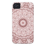 Vintage Red Doily Case-Mate iPhone 4 Case