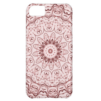 Vintage Red Doily Cover For iPhone 5C