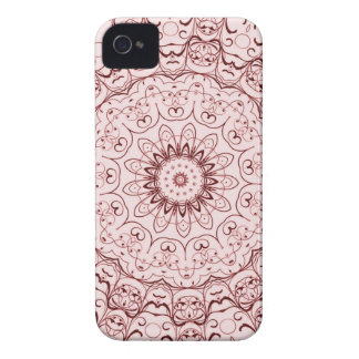 Vintage Red Doily iPhone 4 Cover