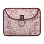 Vintage Red Doily Sleeves For MacBooks