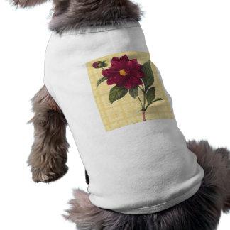 Vintage Red Floral T-Shirt