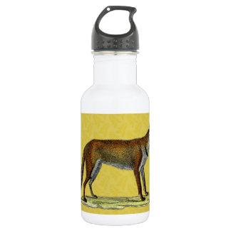Vintage Red Fox 18oz Water Bottle
