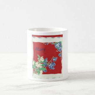 Vintage Red Hanky Mug