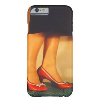 Vintage Red High Heel Shoes Barely There iPhone 6 Case