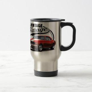 Vintage Red Muscle Car Travel Mug