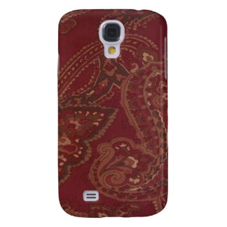 Vintage Red Paisley 3G/3GS Samsung Galaxy S4 Case