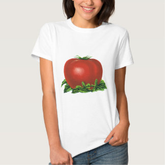 Vintage Red Ripe Tomato, Fruits and Vegetables T Shirt