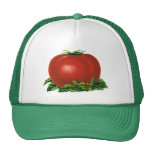 Vintage Red Ripe Tomato, Fruits and Vegetables Trucker Hat