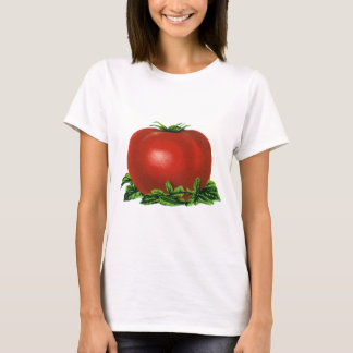 Vintage Red Ripe Tomato, Vegetables and Fruits T-Shirt