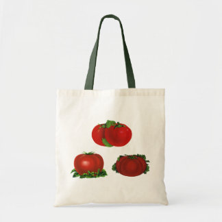 Vintage Red Ripe Tomatoes Food, Fruits, Vegetables Tote Bag