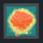 """Vintage Red Rose Fine Art Keepsake Box<br><div class=""""desc"""">Vintage Red Rose Fine Art</div>"""