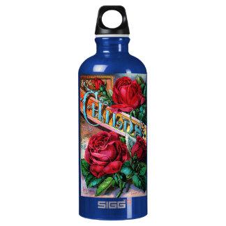 Vintage Red Roses SIGG Traveler 0.6L Water Bottle