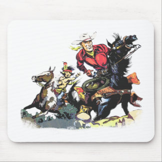 Vintage Red Ryder Gifts Mouse Pad
