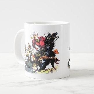 Vintage Red Ryder 20 Oz Large Ceramic Coffee Mug
