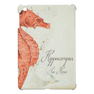 Vintage Red Sea Horse Case For The iPad Mini