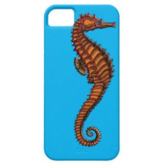 Vintage Red Seahorse Engraving iPhone SE/5/5s Case