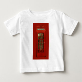 Vintage Red Telephone Box Baby T-Shirt