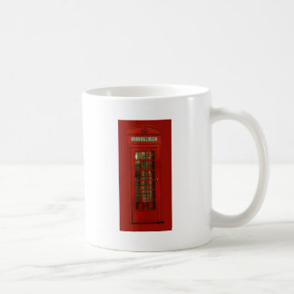 Vintage Red Telephone Box Coffee Mug